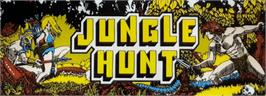 Arcade Cabinet Marquee for Jungle Hunt.