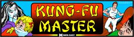 Arcade Cabinet Marquee for Kung-Fu Master.