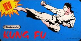 Arcade Cabinet Marquee for Kung Fu.