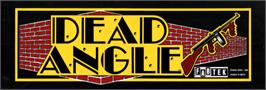 Arcade Cabinet Marquee for Lead Angle.