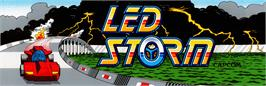 Arcade Cabinet Marquee for Led Storm.