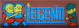 Arcade Cabinet Marquee for Legend.