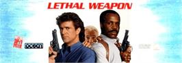 Arcade Cabinet Marquee for Lethal Weapon.