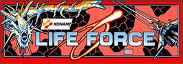 Arcade Cabinet Marquee for Lifeforce.