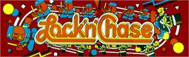 Arcade Cabinet Marquee for Lock'n'Chase.