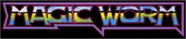 Arcade Cabinet Marquee for Magic Worm.