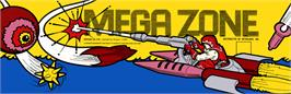 Arcade Cabinet Marquee for Mega Zone.