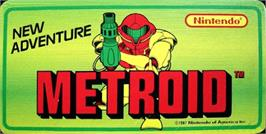 Arcade Cabinet Marquee for Metroid.