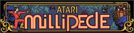 Arcade Cabinet Marquee for Millipede Dux.