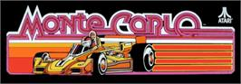 Arcade Cabinet Marquee for Monte Carlo.