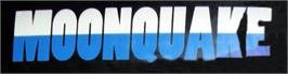 Arcade Cabinet Marquee for Moonquake.