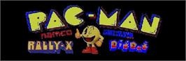 Arcade Cabinet Marquee for Namco Classic Collection Vol.2.