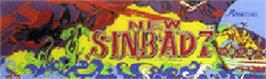 Arcade Cabinet Marquee for New Sinbad 7.