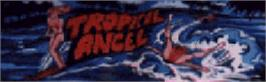 Arcade Cabinet Marquee for New Tropical Angel.
