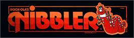 Arcade Cabinet Marquee for Nibbler.