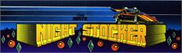 Arcade Cabinet Marquee for Night Stocker.
