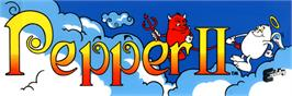Arcade Cabinet Marquee for Pepper II.