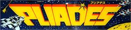 Arcade Cabinet Marquee for Pleiads.