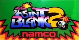 Arcade Cabinet Marquee for Point Blank 2.