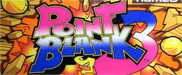 Arcade Cabinet Marquee for Point Blank 3.