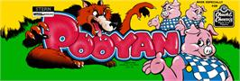 Arcade Cabinet Marquee for Pooyan.