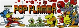 Arcade Cabinet Marquee for Pop Flamer.