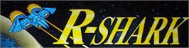 Arcade Cabinet Marquee for R-Shark.