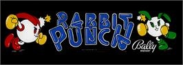 Arcade Cabinet Marquee for Rabbit Punch.