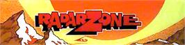 Arcade Cabinet Marquee for Radar Zone.