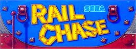 Arcade Cabinet Marquee for Rail Chase.