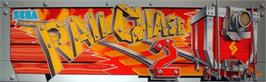 Arcade Cabinet Marquee for Rail Chase 2.