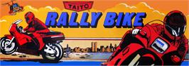 Arcade Cabinet Marquee for Rally Bike / Dash Yarou.