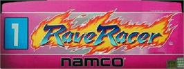 Arcade Cabinet Marquee for Rave Racer.