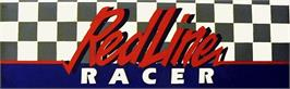Arcade Cabinet Marquee for Redline Racer.