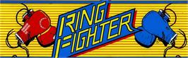 Arcade Cabinet Marquee for Ring Fighter.