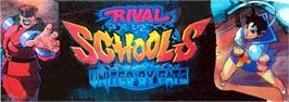 Arcade Cabinet Marquee for Rival Schools.