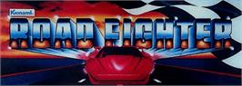 Arcade Cabinet Marquee for Road Fighter.