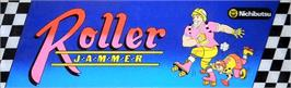 Arcade Cabinet Marquee for Roller Jammer.