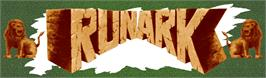 Arcade Cabinet Marquee for Runark.