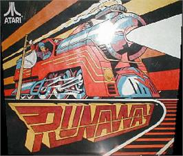 Arcade Cabinet Marquee for Runaway.