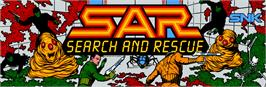 Arcade Cabinet Marquee for SAR - Search And Rescue.