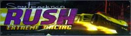 Arcade Cabinet Marquee for San Francisco Rush.