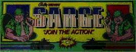 Arcade Cabinet Marquee for Sarge.