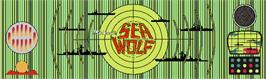 Arcade Cabinet Marquee for Sea Wolf.
