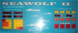 Arcade Cabinet Marquee for Seawolf II.