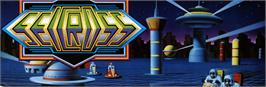 Arcade Cabinet Marquee for Sector Zone.