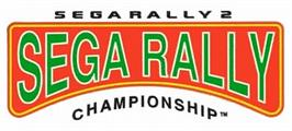 Arcade Cabinet Marquee for Sega Rally 2.