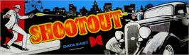 Arcade Cabinet Marquee for Shoot Out.