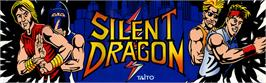 Arcade Cabinet Marquee for Silent Dragon.