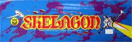 Arcade Cabinet Marquee for Skelagon.